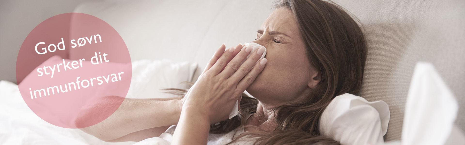 God søvn styrker immunforsvaret