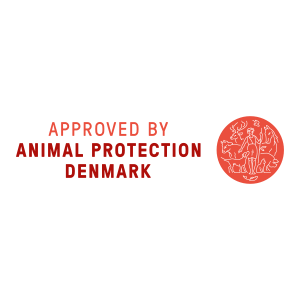 Approved by Animal Protection Denmark