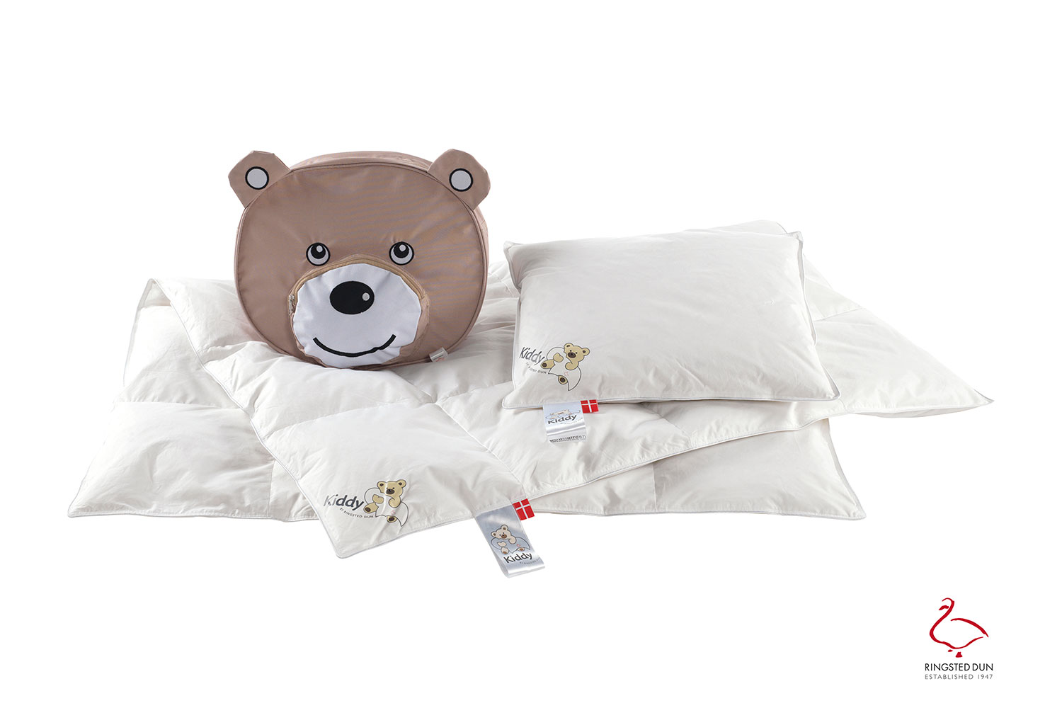 Ringsted Dun Kiddy junior duvets and pillows