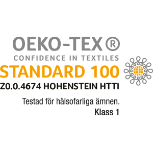 STANDARD 100 by OEKO-TEX® Klass I